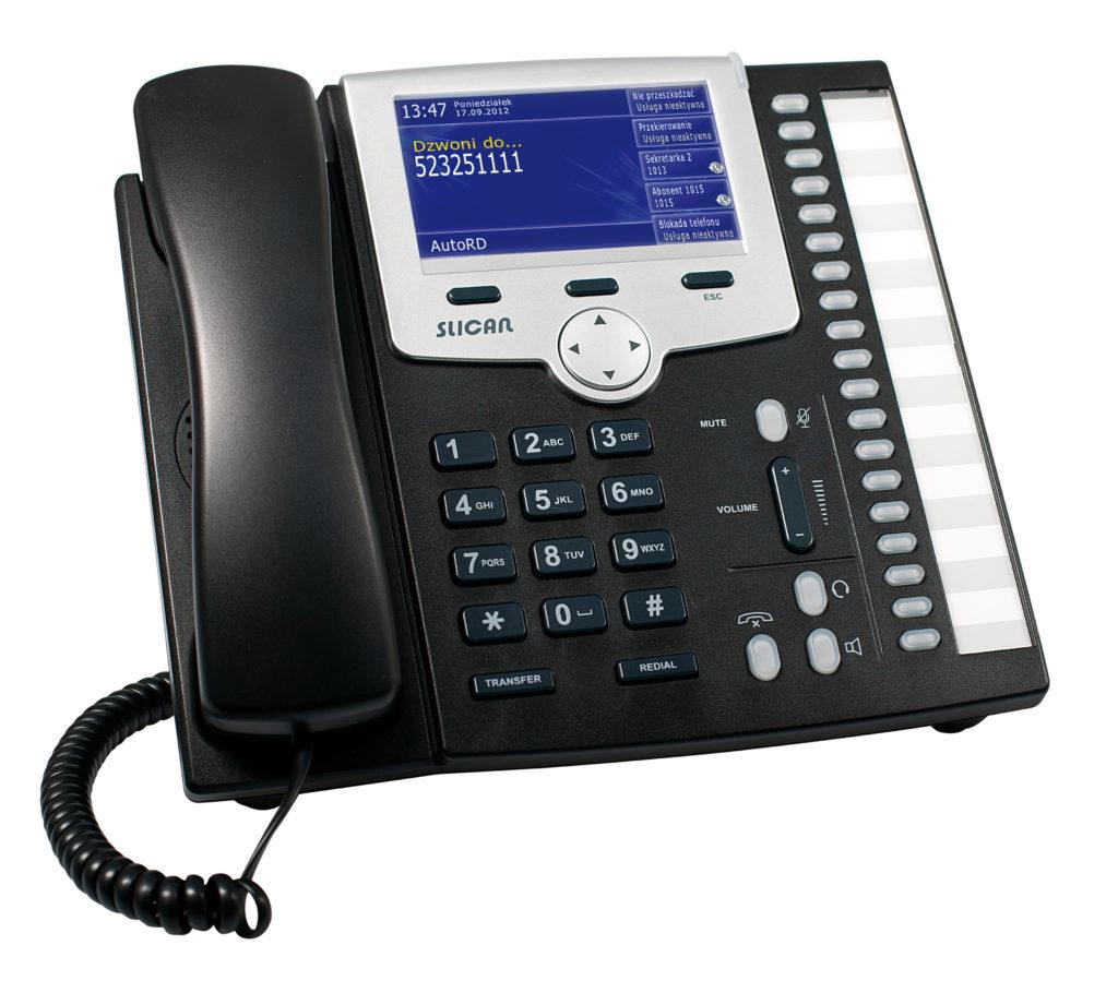 aparaty telefoniczne CTS330 - model kolor czarny